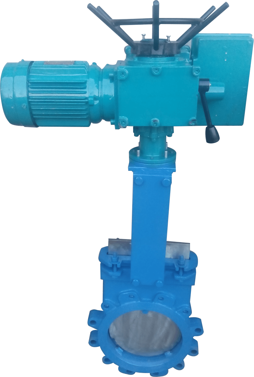 electric knife gate valve image